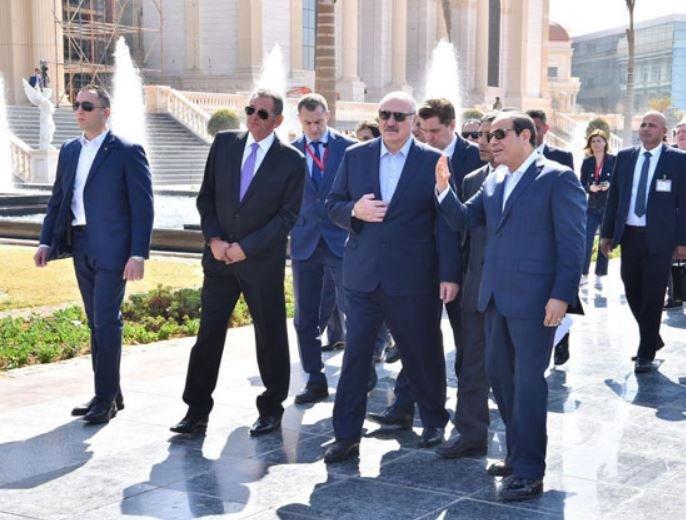 Лукашенко посетил новую административную столицу Египта