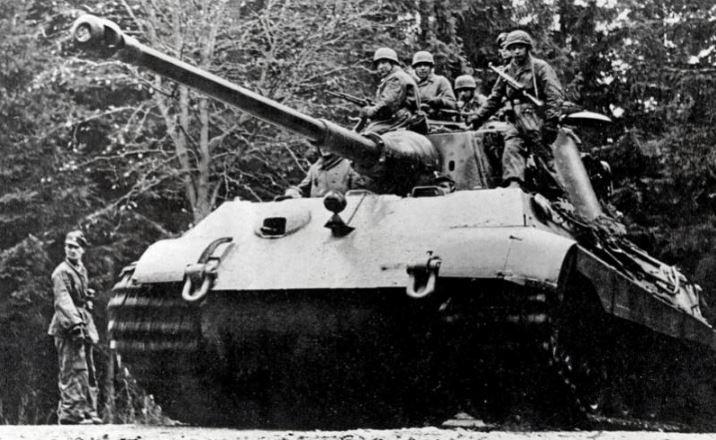 Немецкое наступление в Арденнах в декабре 1944 года