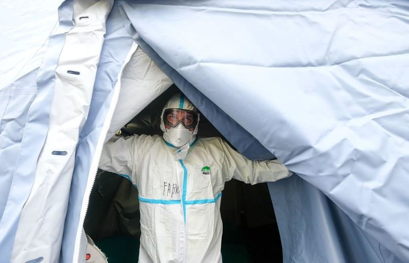 Число случаев коронавируса в Беларуси cоставило 1066 человек