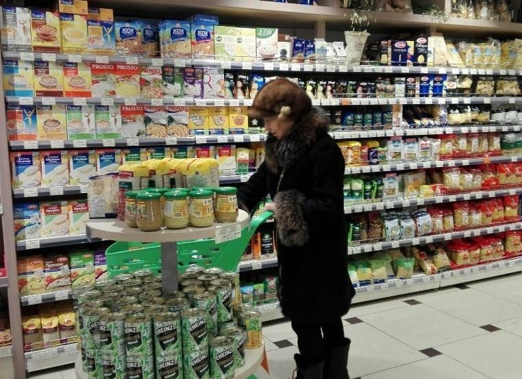 В Беларуси выросли цены на продовольственные товары