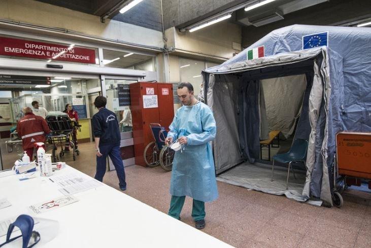 В Италия число жертв коронавируса побило суточный рекорд