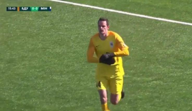 Вратаря «Энергетик-БГУ» попросили переодеть подтрусники во время матча