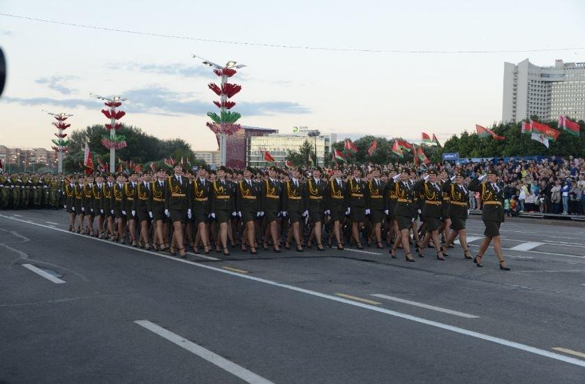 В Минске не проводили репетицию парада