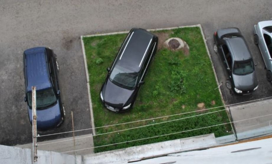 В Минске с 1 июня начнут штрафовать за парковку в зеленой зоне