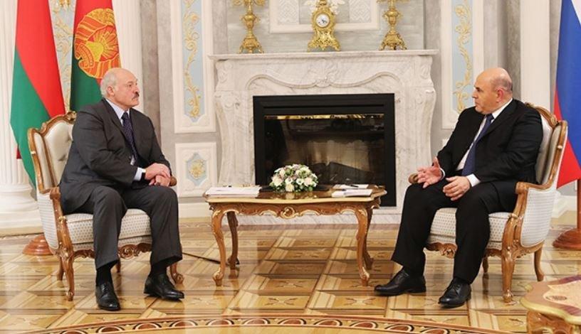 Лукашенко рассказал Мишустину об «очень странных вещах» на выборах