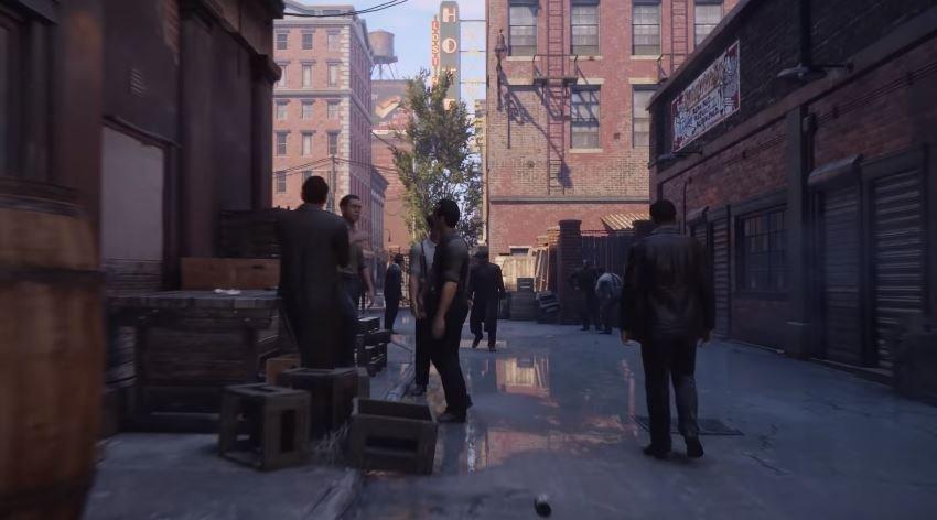 Появился 14-минутный геймплей ремейка первой Mafia