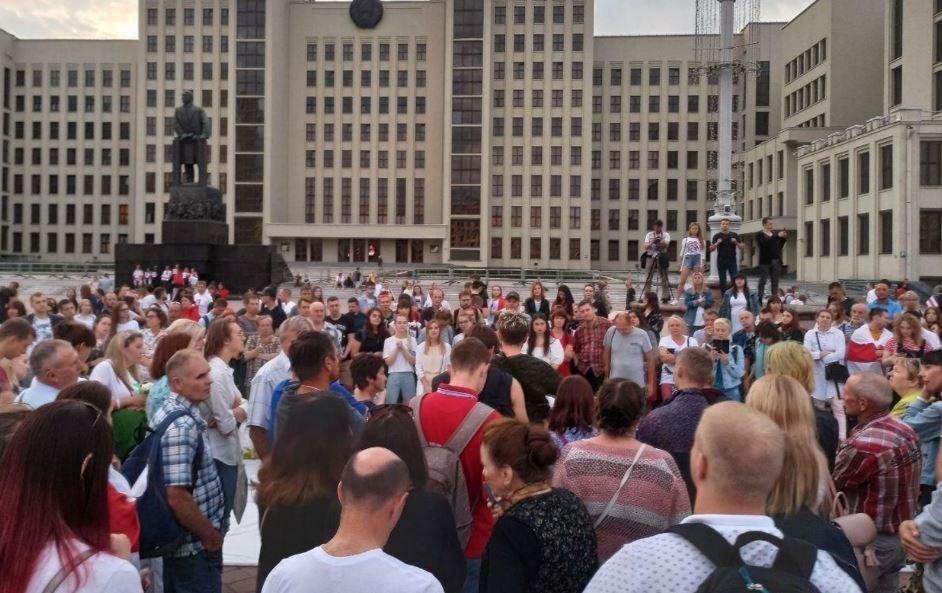 В Минске запланирован митинг в поддержку Лукашенко