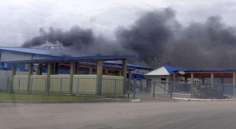 На заводе «Савушкин продукт» в Орше произошел пожар
