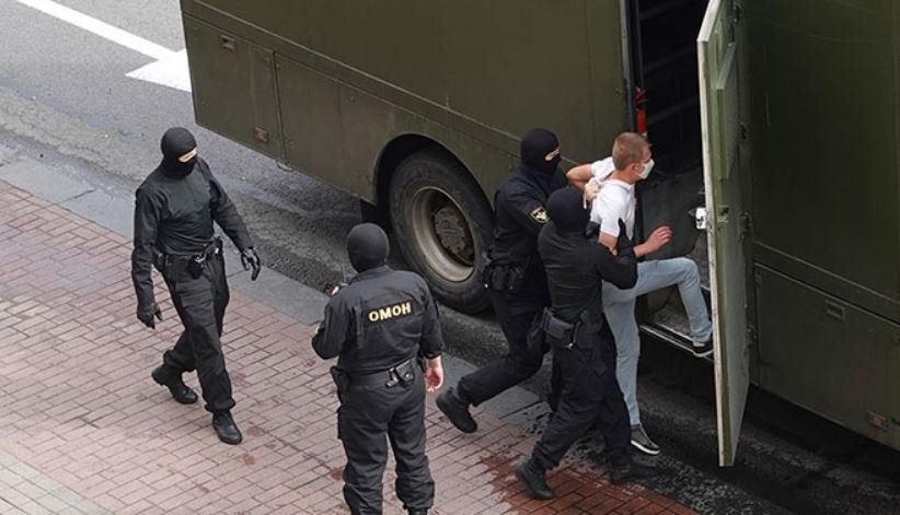 После воскресных акций протеста в Беларуси задержаны 313 человек