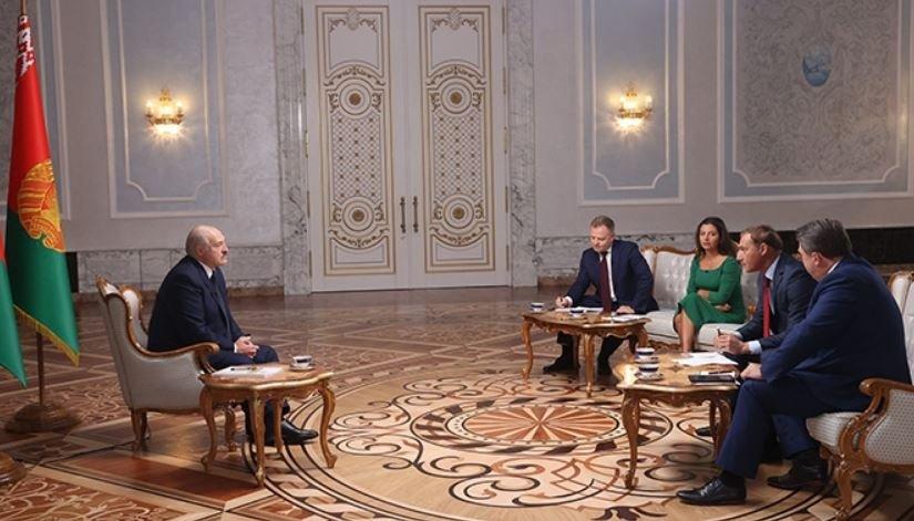 Появилась полная версия интервью Лукашенко российским СМИ