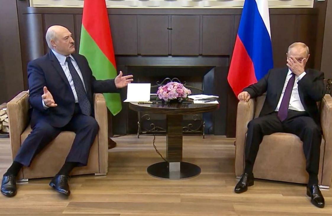 Лукашенко договорился с Путиным о выделении кредите на 1,5 млрд долларов