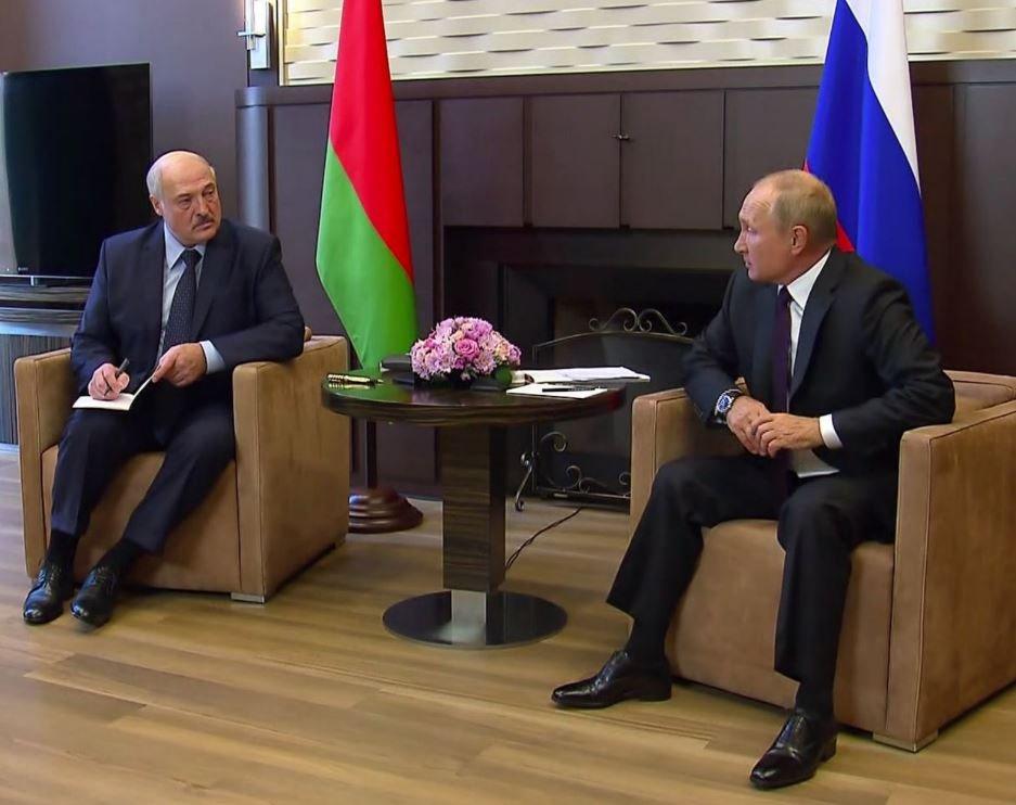 Встреча Лукашенко и Путина в Сочи продлилась более 4 часов