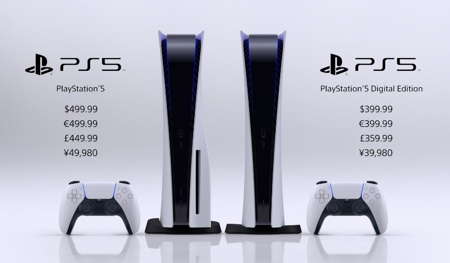 Sony объявила цену и дату выхода PlayStation 5