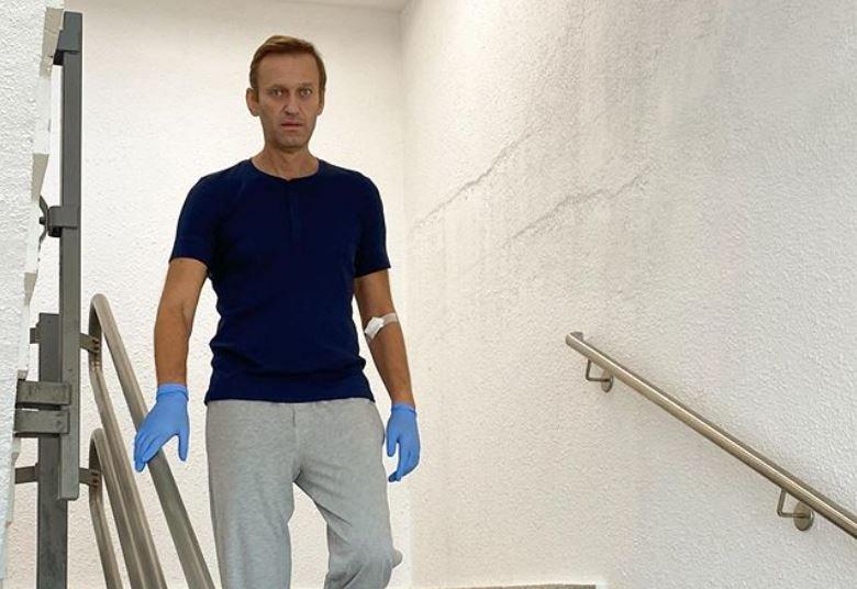 Навальный подтвердил встречу с Меркель в берлинской клинике