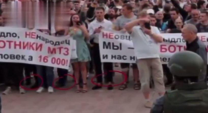 Михалков назвал протесты в Беларуси «компьютерной графикой»