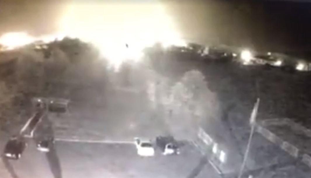 Появилось видео последних секунд полета Ан-26 под Харьковом