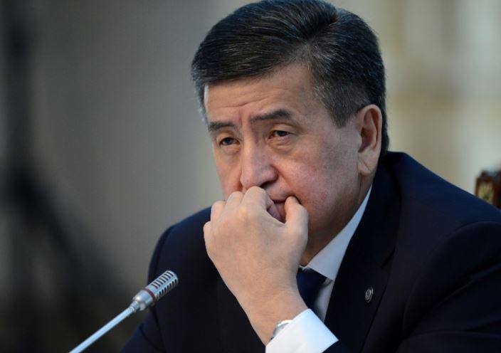 МВД Киргизии сообщило об исчезновении Жээнбекова