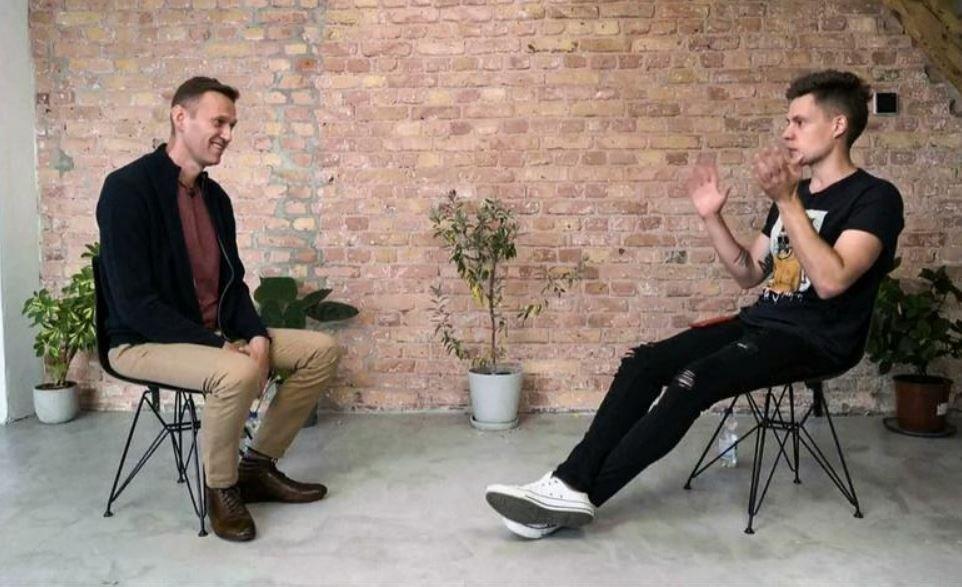 Навальный дал интервью Юрию Дудю после отравления