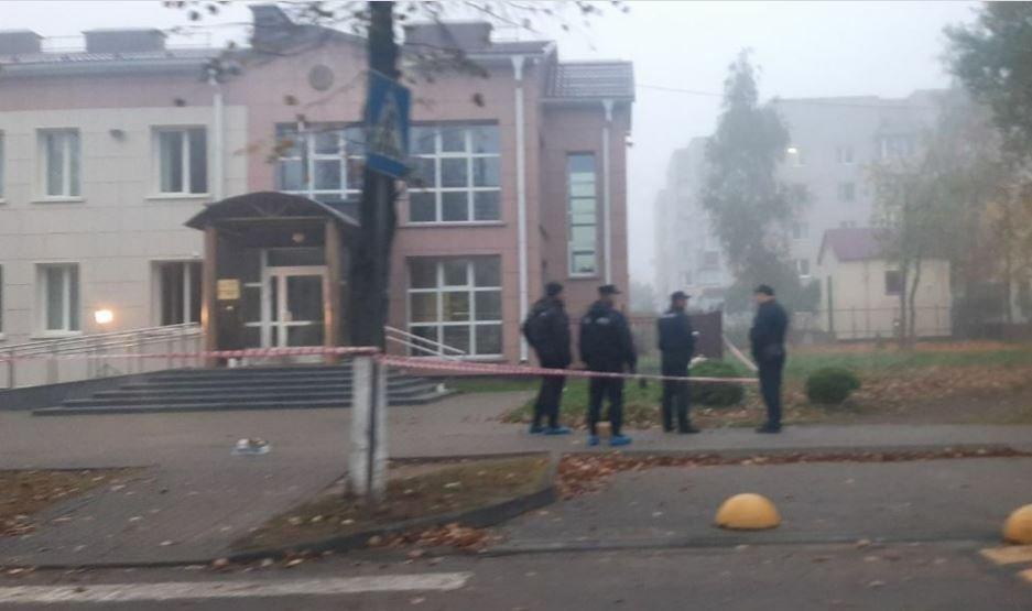 В Жодино подожгли здание прокуратуры