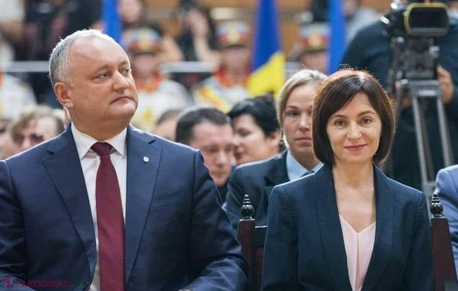 Санду опережает Додона на выборах президента Молдавии по данным экзит-пола