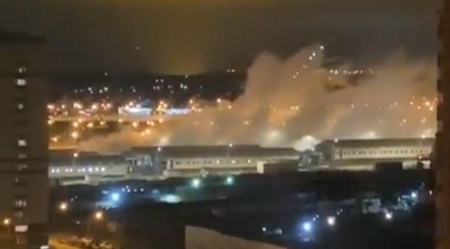 В здании больницы в Коммунарке произошел взрыв