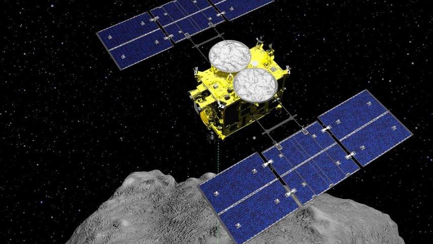 Зонд «Хаябуса-2» собрал все необходимые образцы грунта на астероиде Рюгу