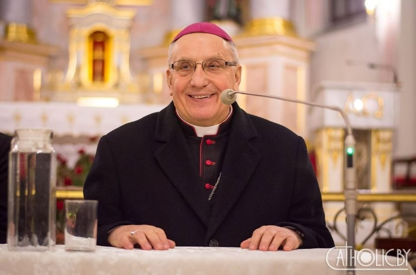 Тадеуш Кондрусевич проведет мессу в Минске 24 декабря