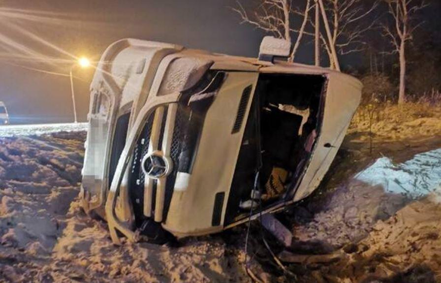 В ДТП с микроавтобусом под Брянском пострадали семь граждан Беларуси