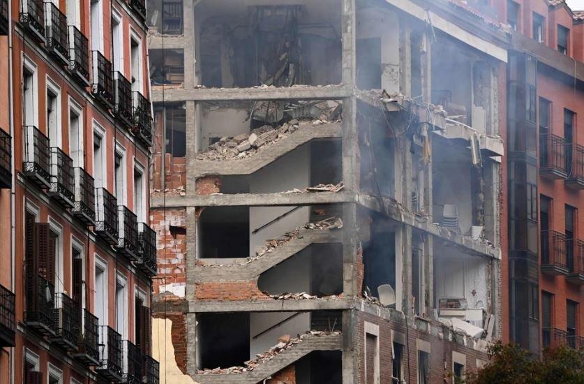 Правительство Испании подтвердило гибель 3 человек при взрыве газа в Мадриде