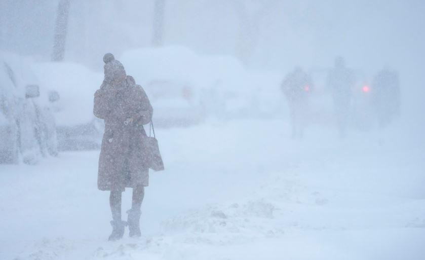 14 февраля в Беларуси ожидается сильный ветер и до -17°С