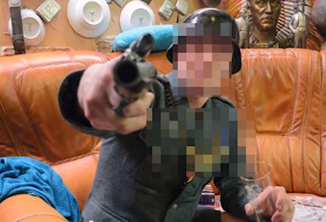 Жительница Новополоцка открыла баню с нацистской символикой