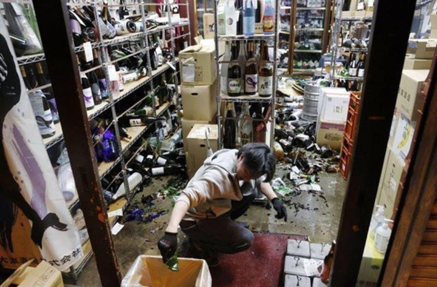 В Японии произошло повторное землетрясение магнитудой 5,2 балла