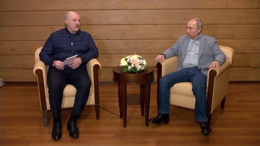 В Кремле назвали откровенной и конструктивной встречу Путина и Лукашенко