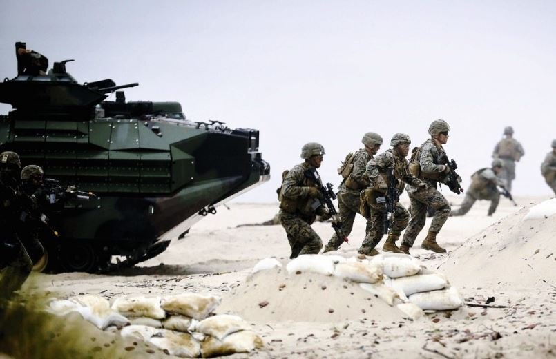 Сотня российских десантников прибыли на военные учения в Беларусь