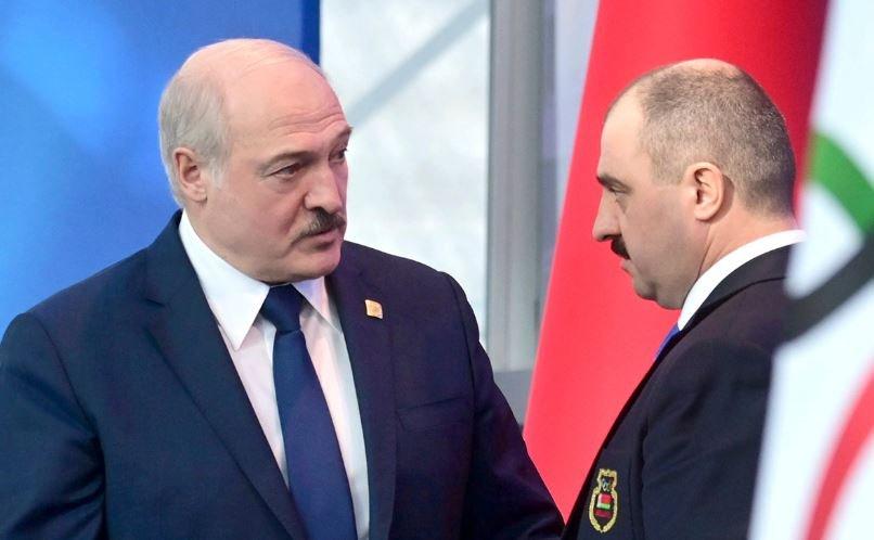 Лукашенко освободил сына Виктора от должности помощника президента Беларуси по нацбезопасности