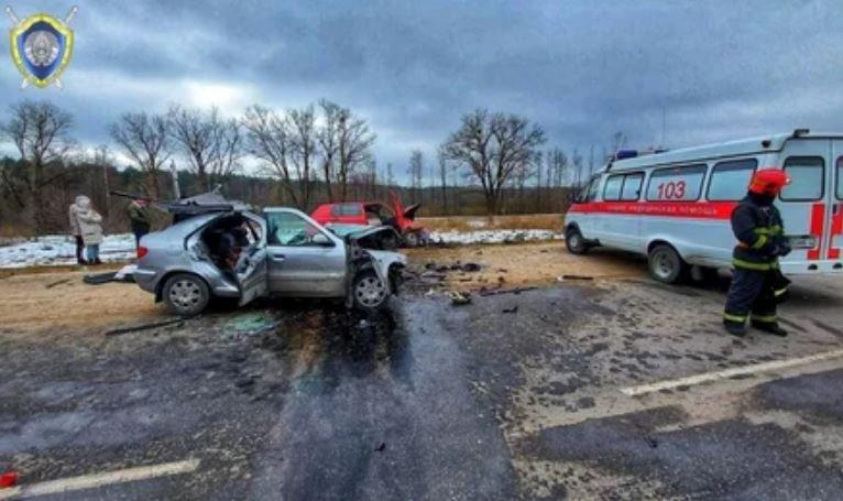 В Волковысском районе в ДТП погибли двое взрослых и новорожденный ребенок