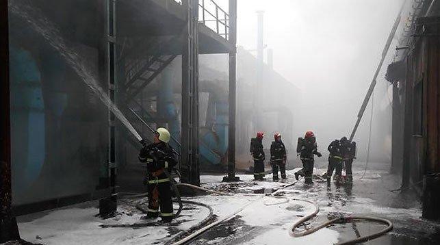 На Минском заводе шестерен произошел пожар