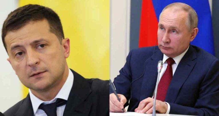 Зеленский отправил запрос о переговорах с Владимиром Путиным