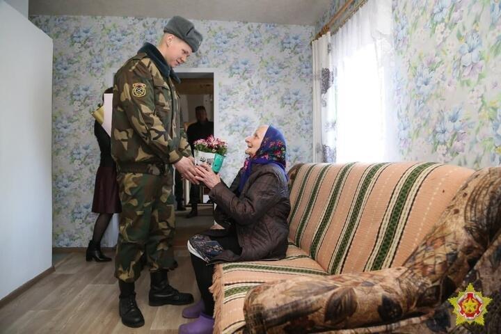 Дом пенсионерки в Осиповичах был восстановлен после повреждения его ракетной установкой