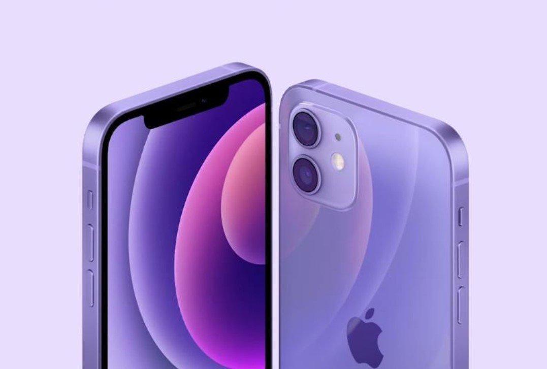 Apple презентовала смартфон iPhone 12 в фиолетовом цвете