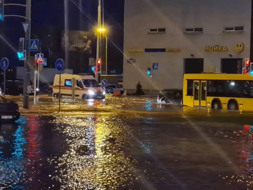 В Чижовке, Серебрянке и Лошице наблюдаются проблемы с водоснабжением