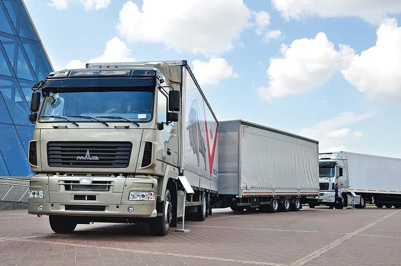 Украина вводит 35 %-ную пошлину на поставки транспорта из Беларуси
