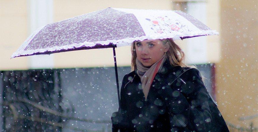 24 апреля в Беларуси ожидается похолодание и мокрый снег