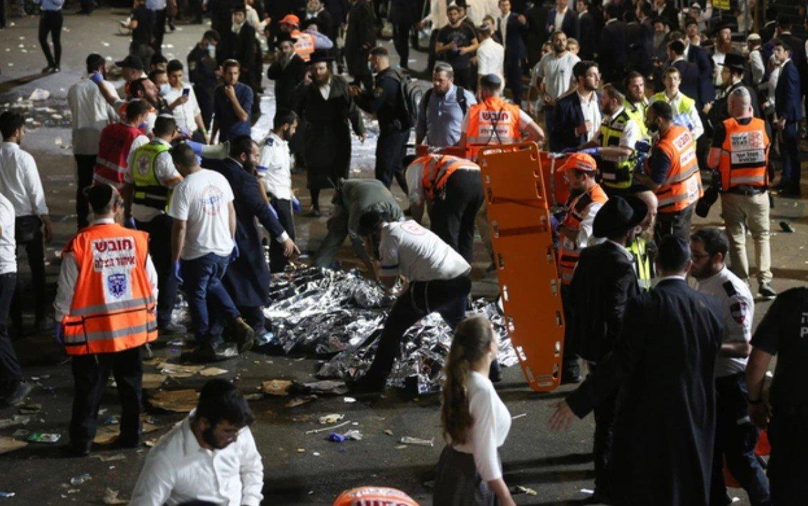 Более 40 человек погибли во время религиозного праздника на горе Мерон в Израиле