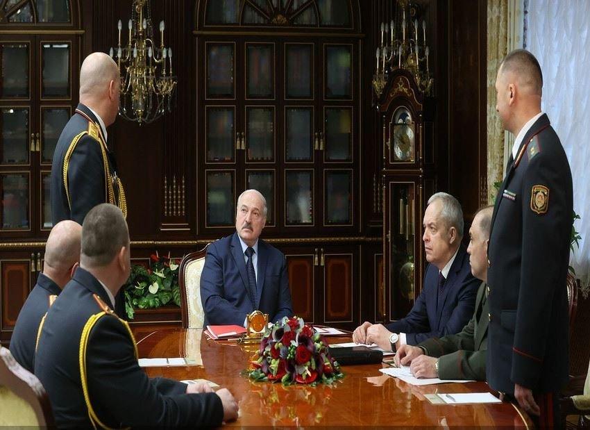Лукашенко назначил новых начальников милиции в Брестской, Гродненской и Минской областях