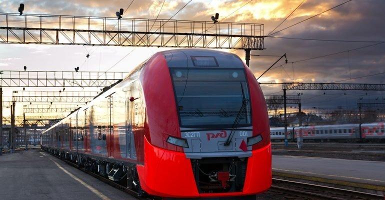 Первая «Ласточка» отправилась из Москвы в Минск