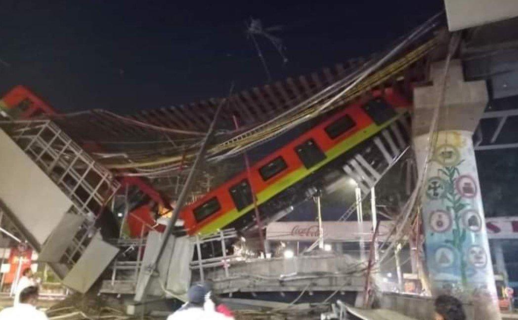 В Мехико заявили о 20 погибших и 70 пострадавших из-за обрушения метромоста