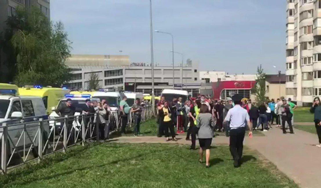 В результате нападения на школу в Казани погибли девять человек