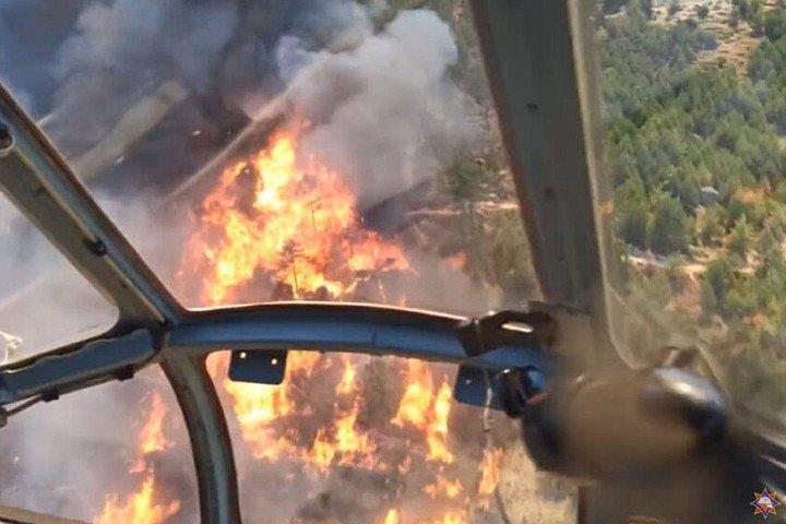 Вертолеты Ми-8 авиации МЧС Беларуси будут тушить пожары в Турции