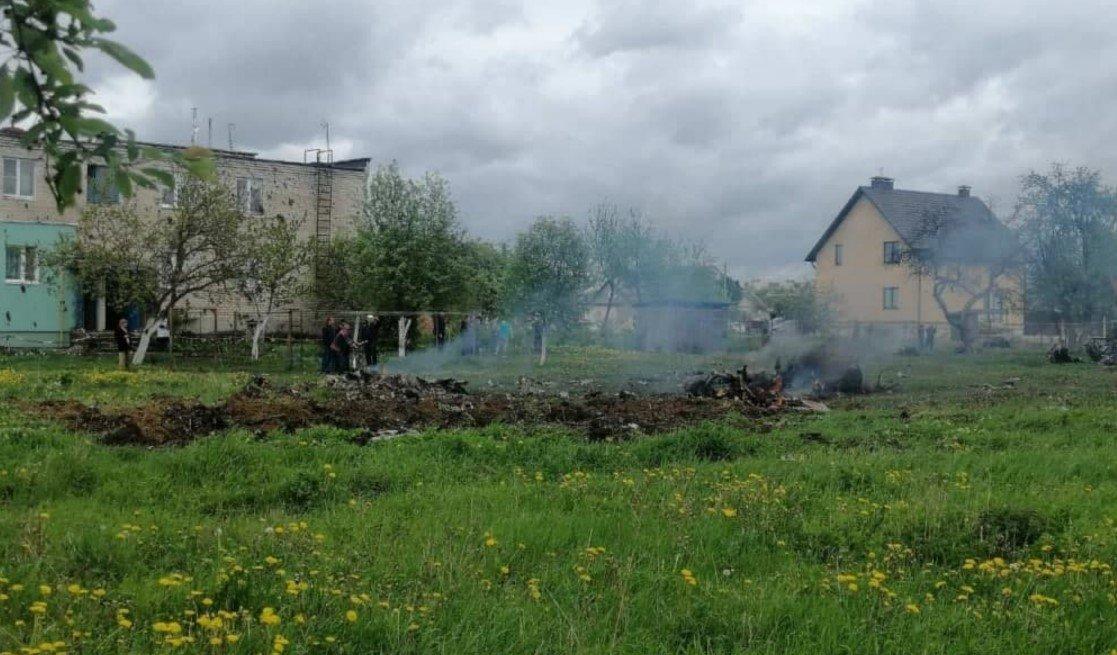 Лукашенко рассказал о крушении военного самолета в Барановичском районе